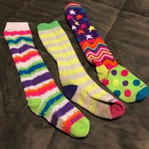 Reebok high socks